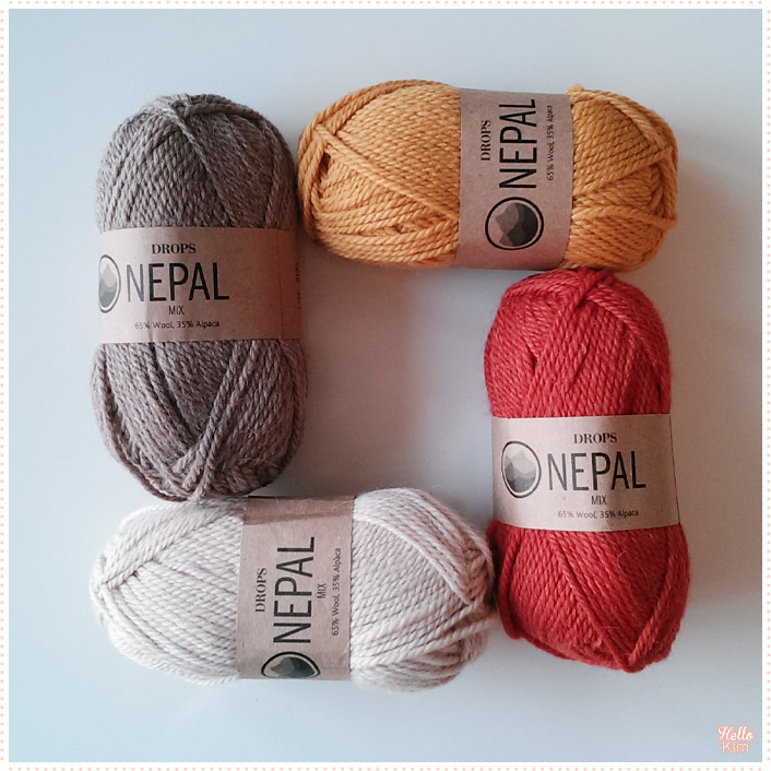 Pelotes DROPS Nepal