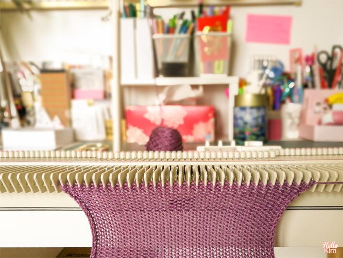 Machine à tricoter LK150