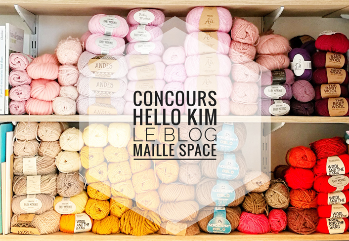 Concours Maille Space x Hello Kim