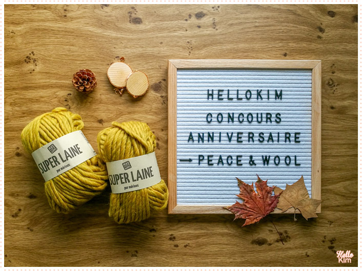 concours Peace & Wool