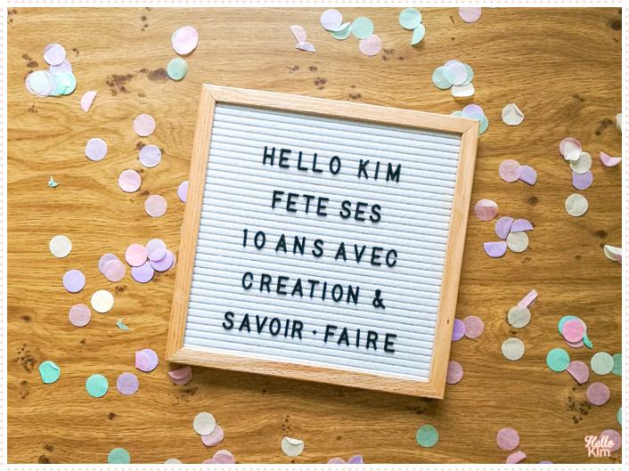 10 ans Hello Kim x CSF