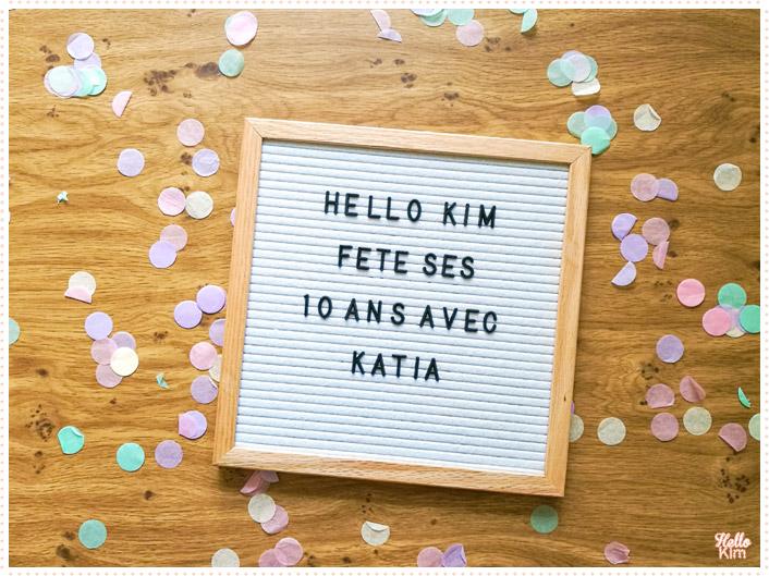 10 ans Hello Kim x Katia