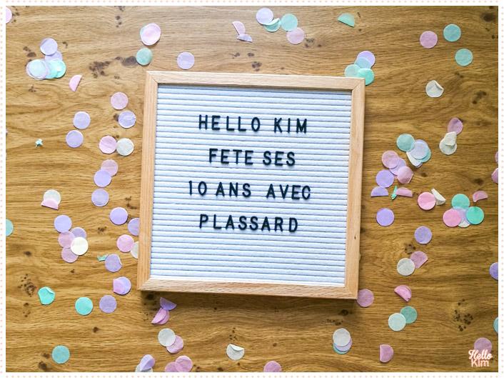 10 ans Hello Kim x Plassard