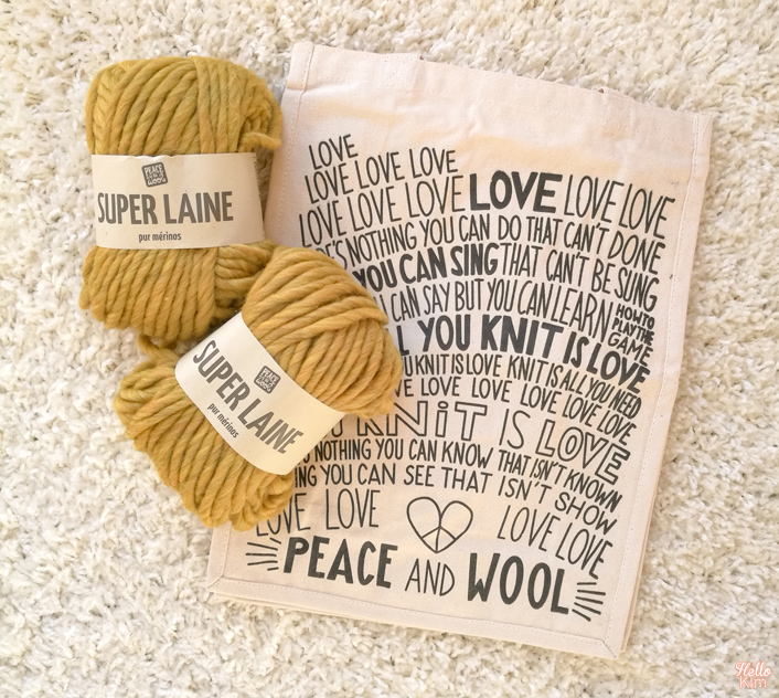 Concours Peace and Wool x Hello Kim