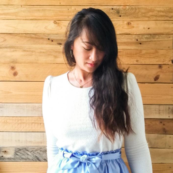 Kim, tricoteuse passionnée