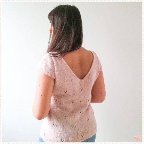 T-shirt Louise, dos