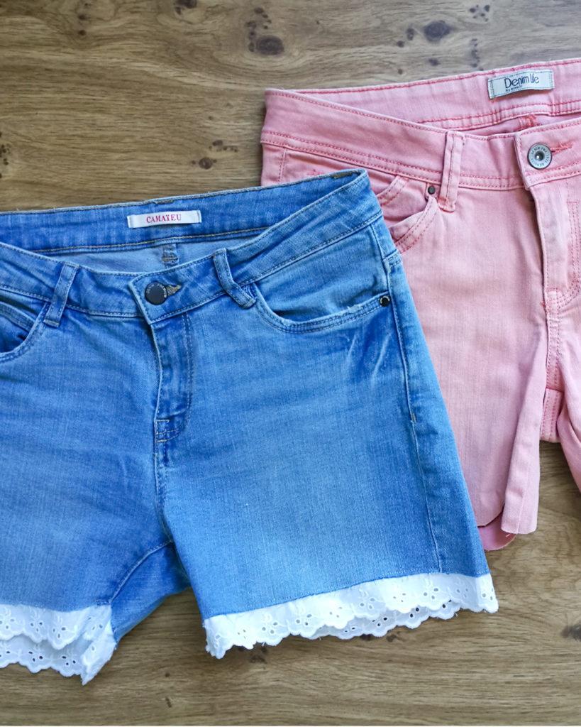 Customisation shorts