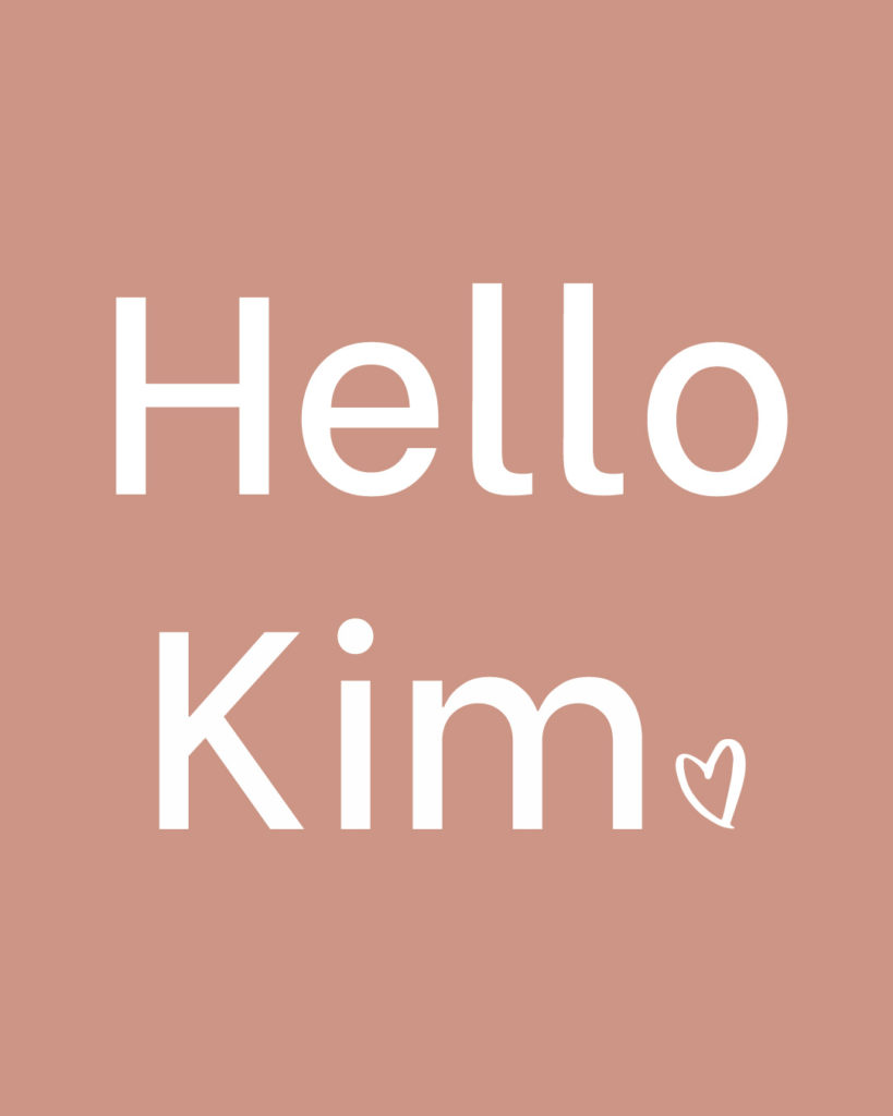 Nouveau design Hello Kim