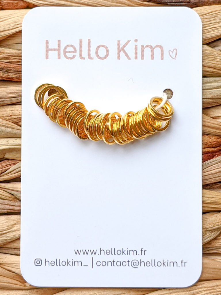 30 anneaux dorés