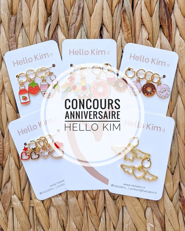 Concours anniversaire Hello Kim 2021