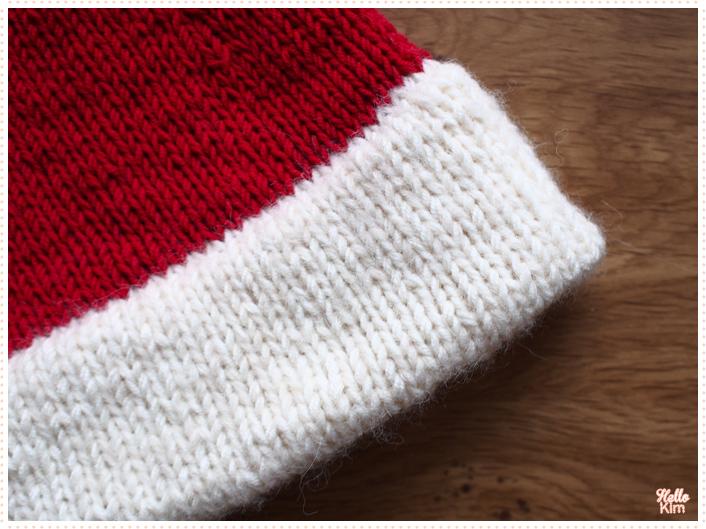 Bonnet de Noël oversize