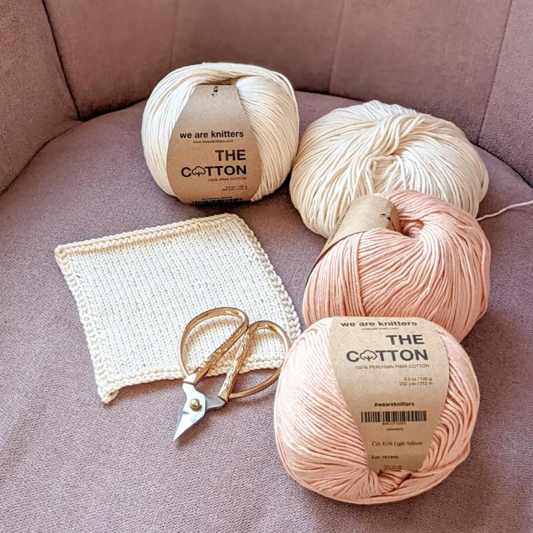 Coton Pima de We are knitters