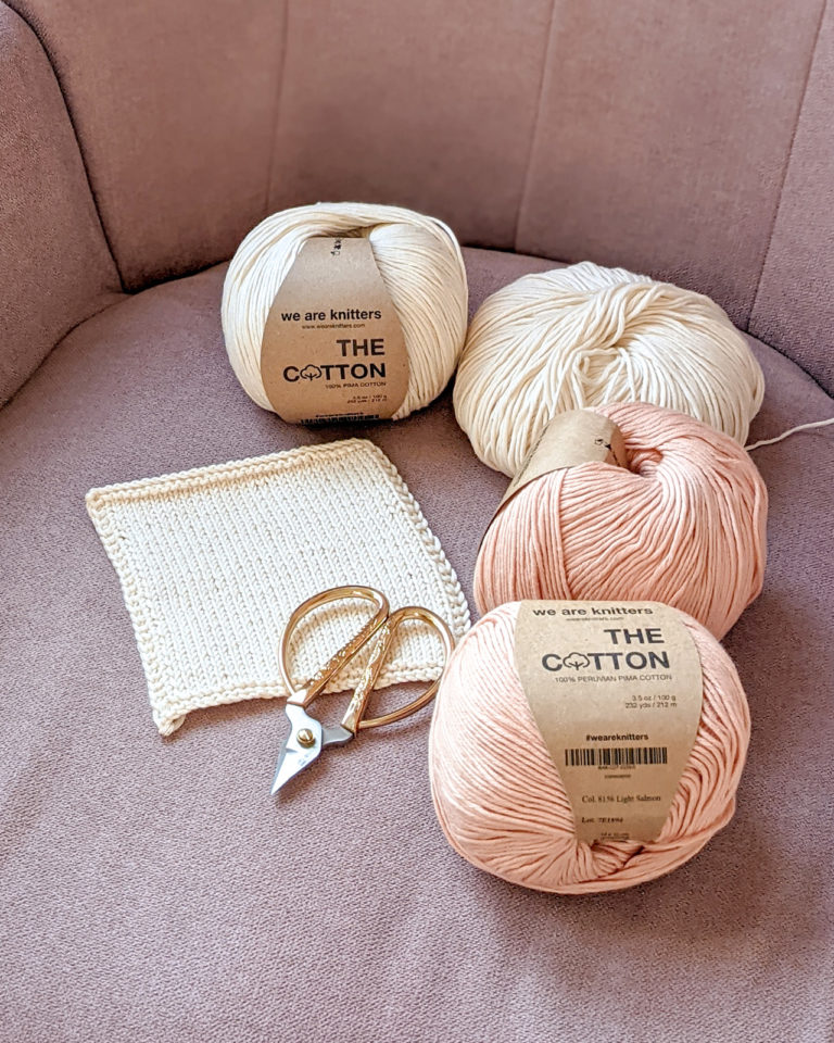 Coton Pima de We are knitters