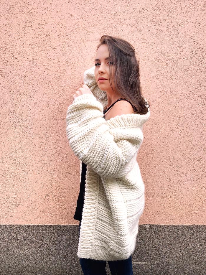 Andréa cardigan de Barbara Craf & fabric pour WAK